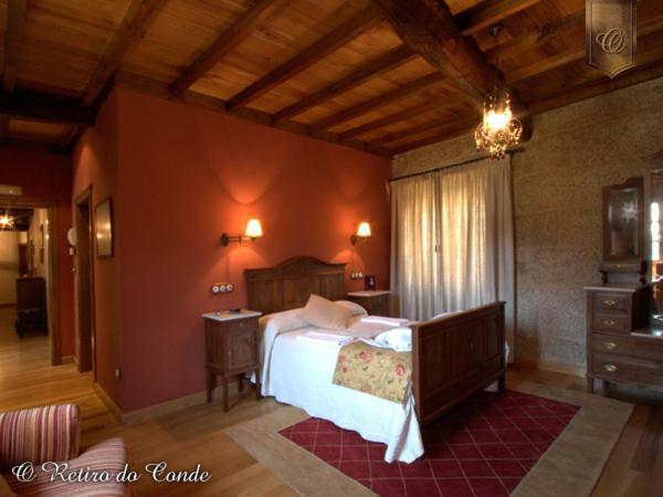 Cama o camas de una habitación en O Retiro do Conde