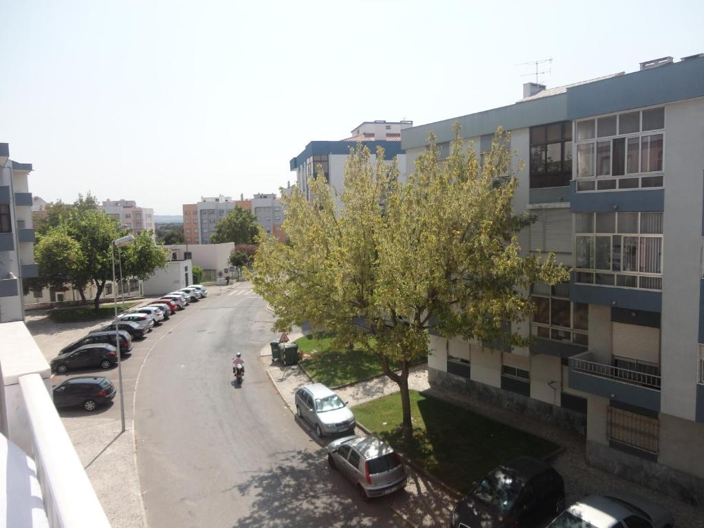 A general view of Seixal or a view of the city taken from the apartment
