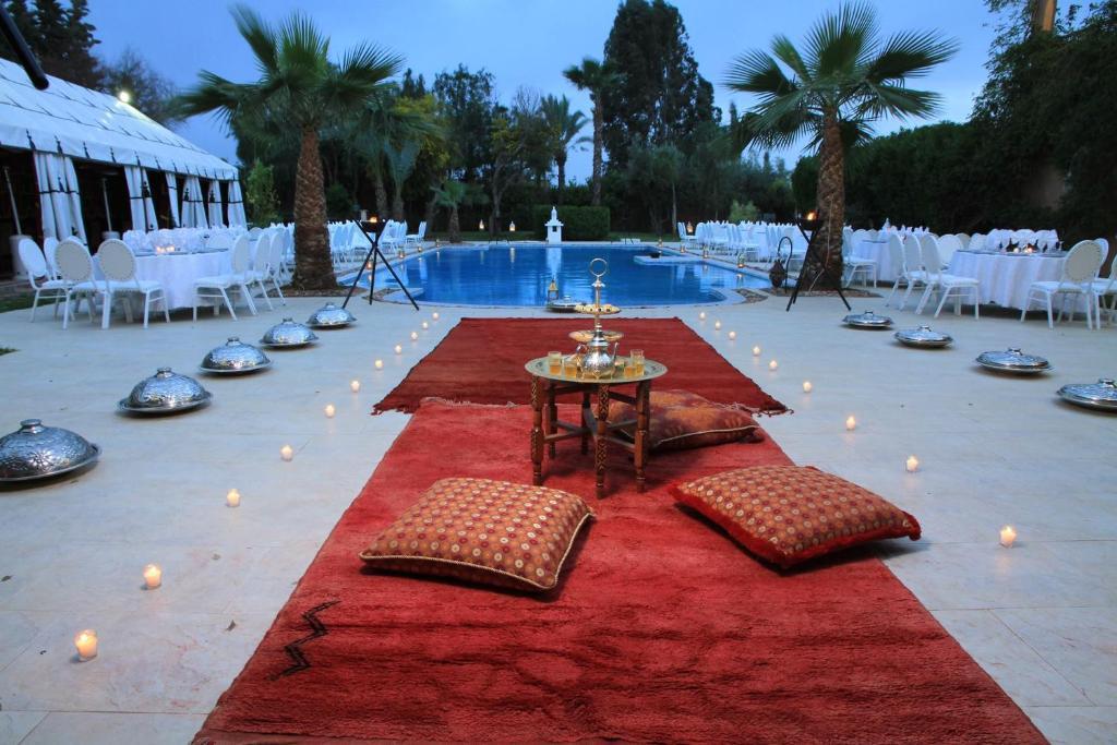 The swimming pool at or near Riad Dar Ilham