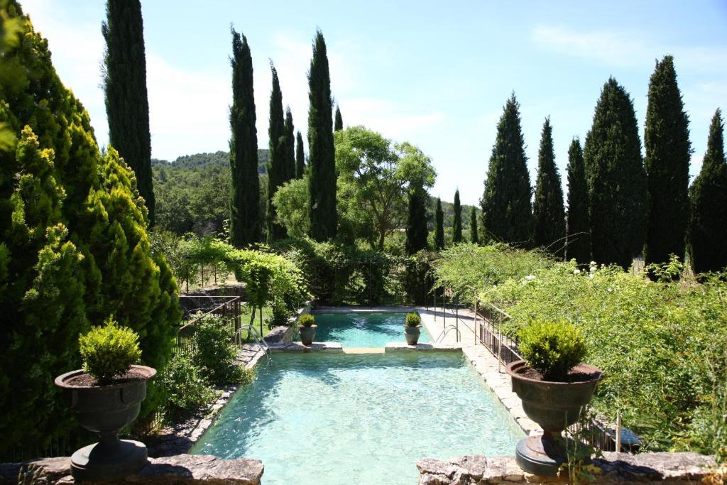 The swimming pool at or near La Bastide de Marie