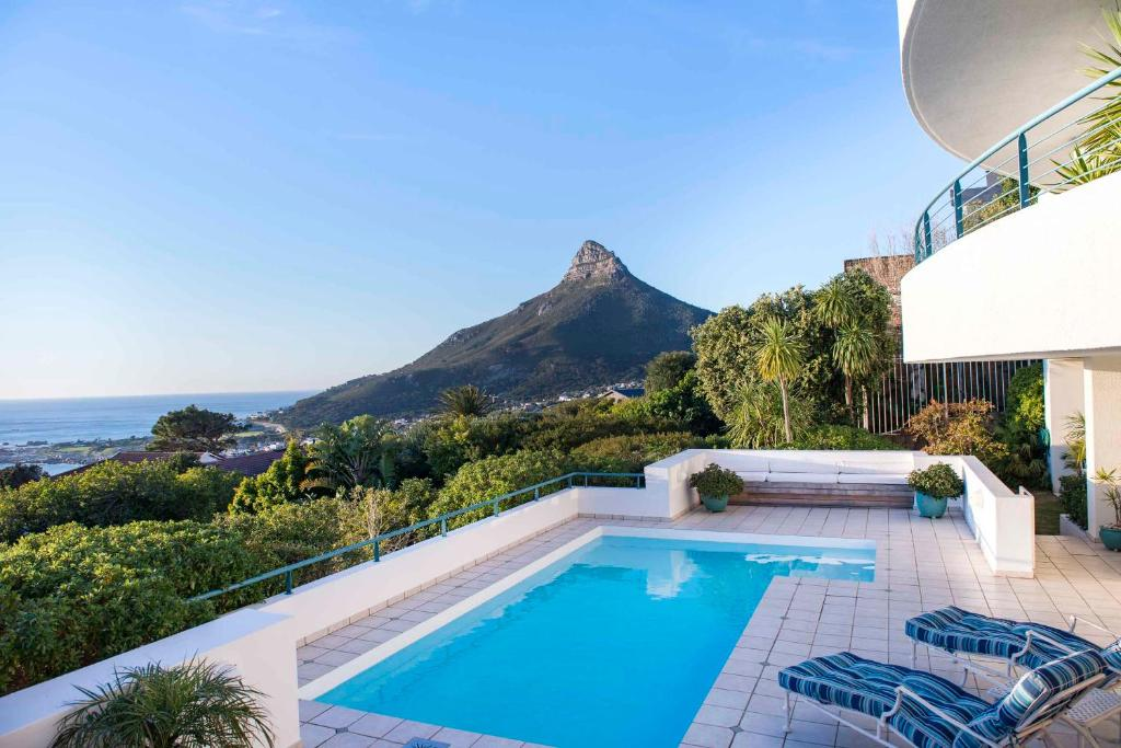 The swimming pool at or near Bay Reflections Camps Bay Luxury Serviced Apartments