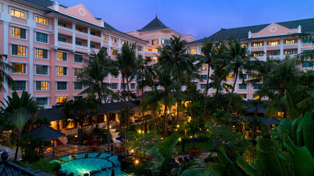 A view of the pool at Melia Purosani Yogyakarta - CHSE Certified or nearby