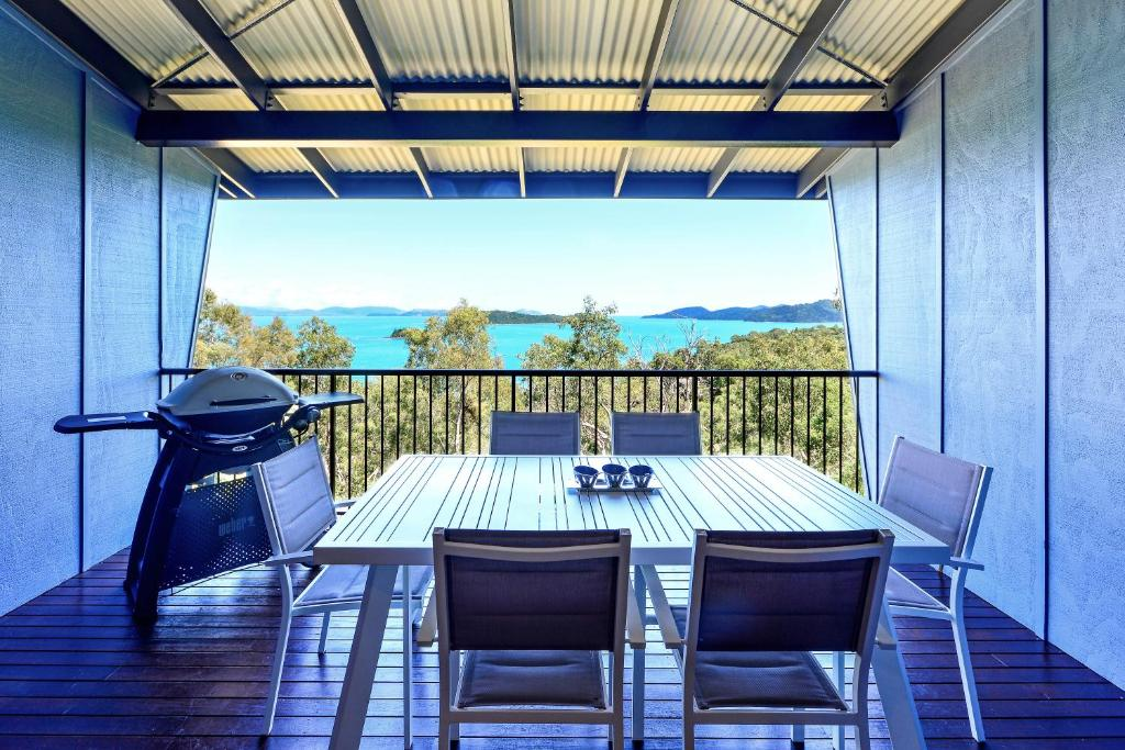 A balcony or terrace at Stunning Panorama Apartments