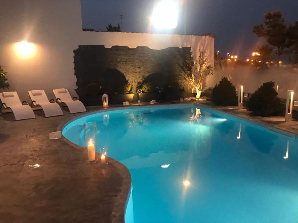 Piscina di Residence del sole Manfredonia o nelle vicinanze
