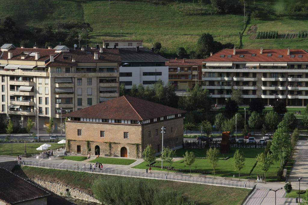 A bird's-eye view of Hotel Dolarea
