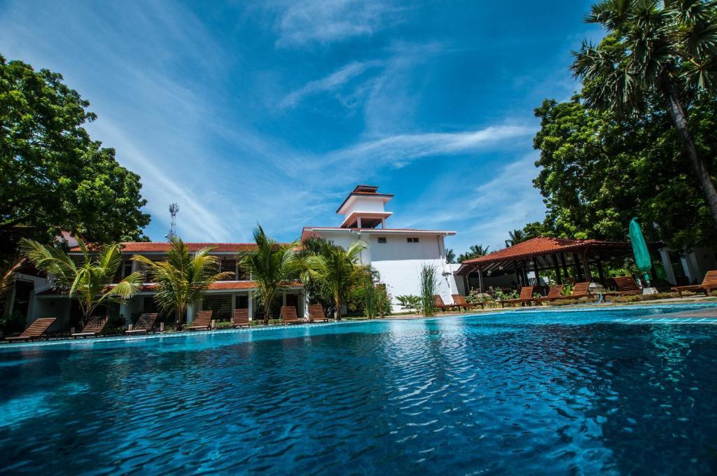 The swimming pool at or near Anantamaa Hotel