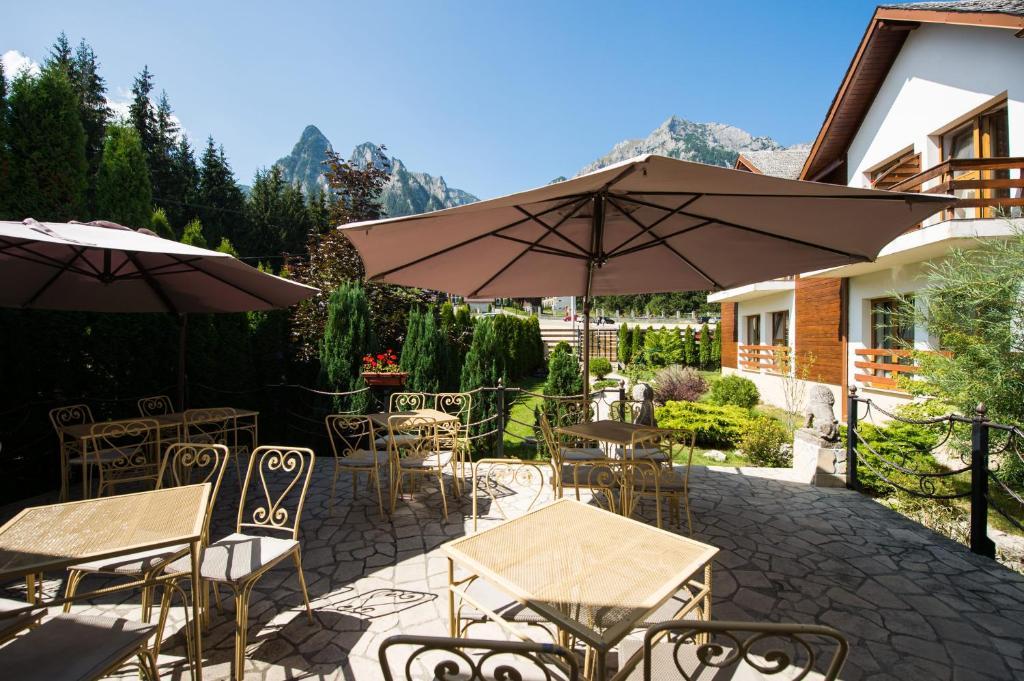Un restaurant sau alt loc unde se poate mânca la Villa Ermitage