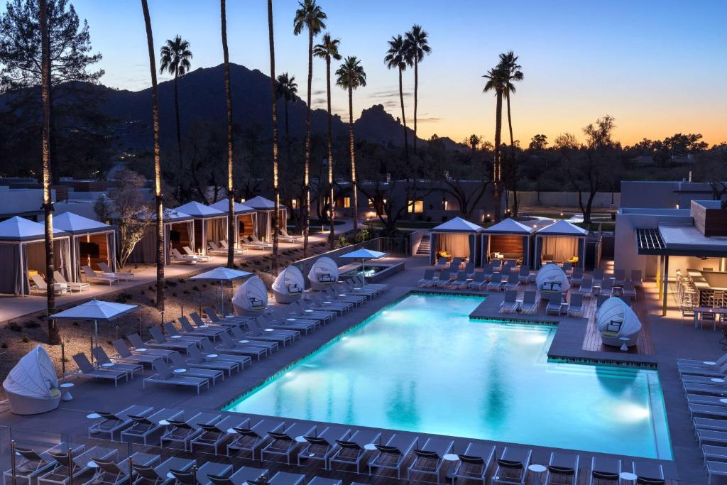 The swimming pool at or near Andaz Scottsdale Resort & Bungalows