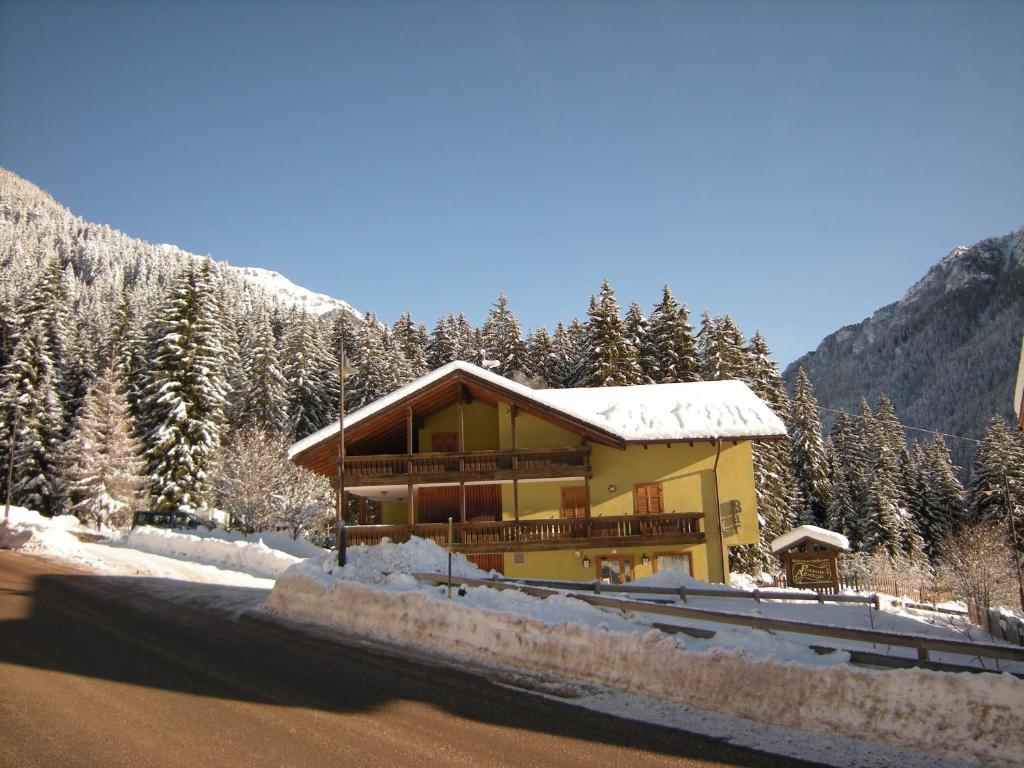 Albergo Pozzole зимой