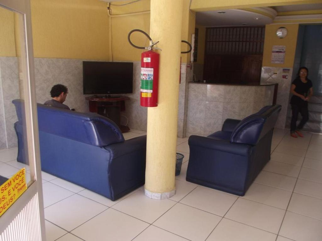 The lobby or reception area at Hotel Zenilandia