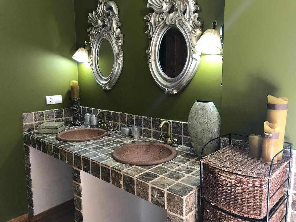A bathroom at Casa Miranda