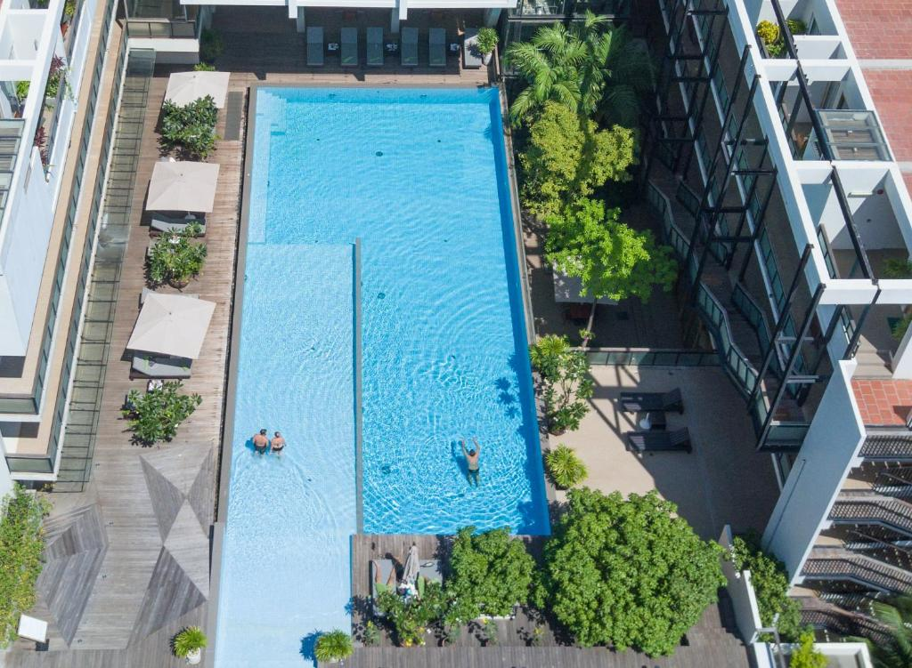 A view of the pool at Somadevi Residence or nearby