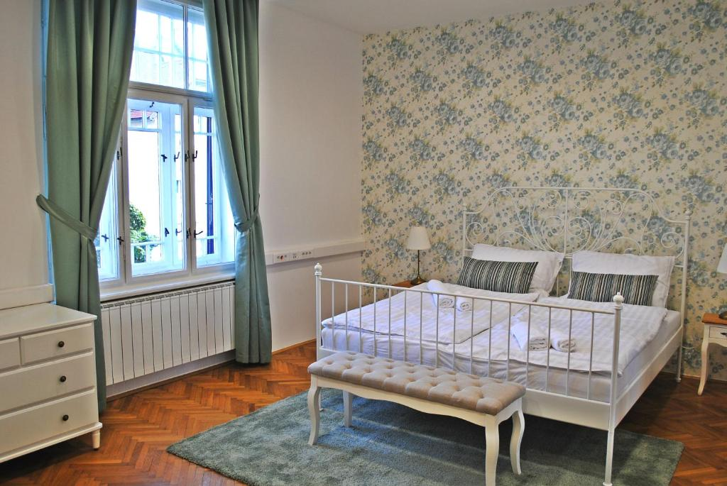 Postelja oz. postelje v sobi nastanitve Villa Winter Prestige Apartments