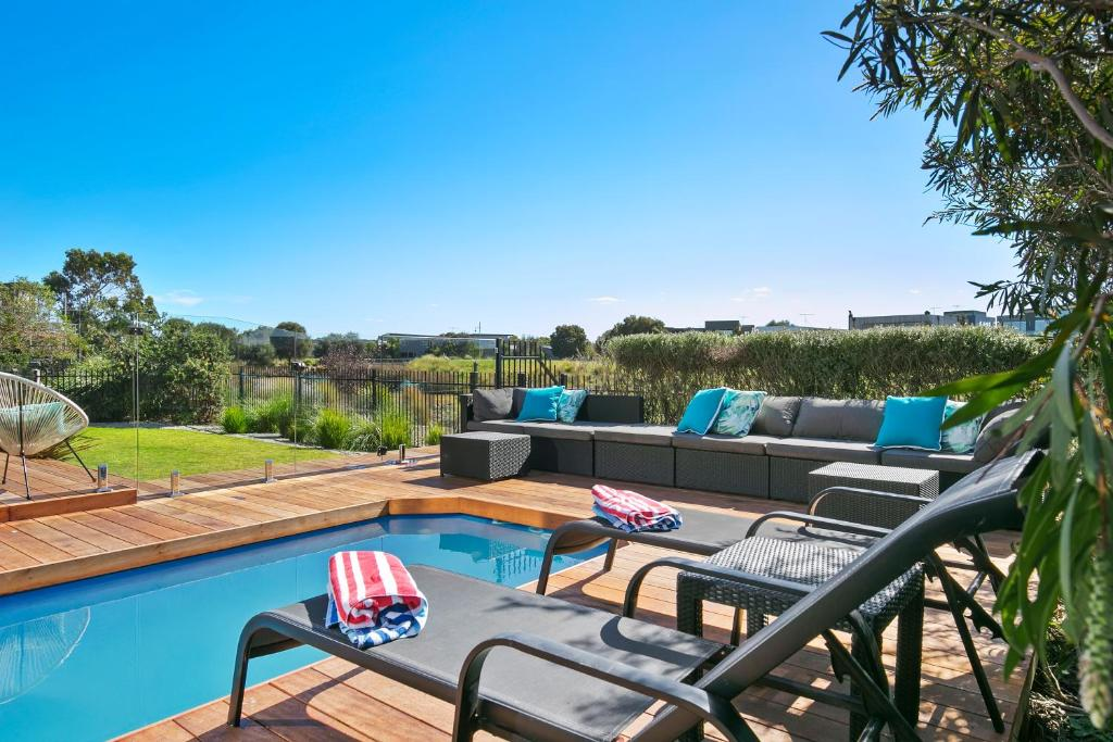 The swimming pool at or near Fabulous Home - Families Only