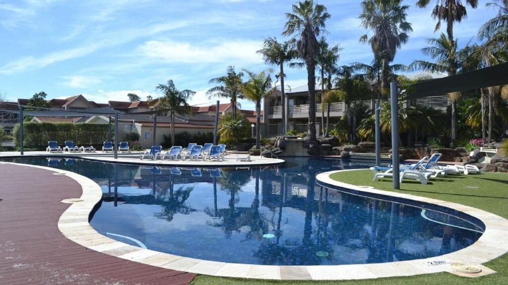 The swimming pool at or near 37D Cypress Drive Mulwala
