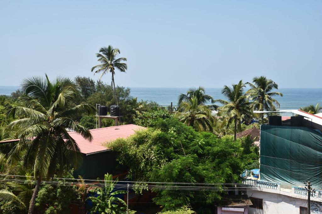 A general sea view or a sea view taken from the resort