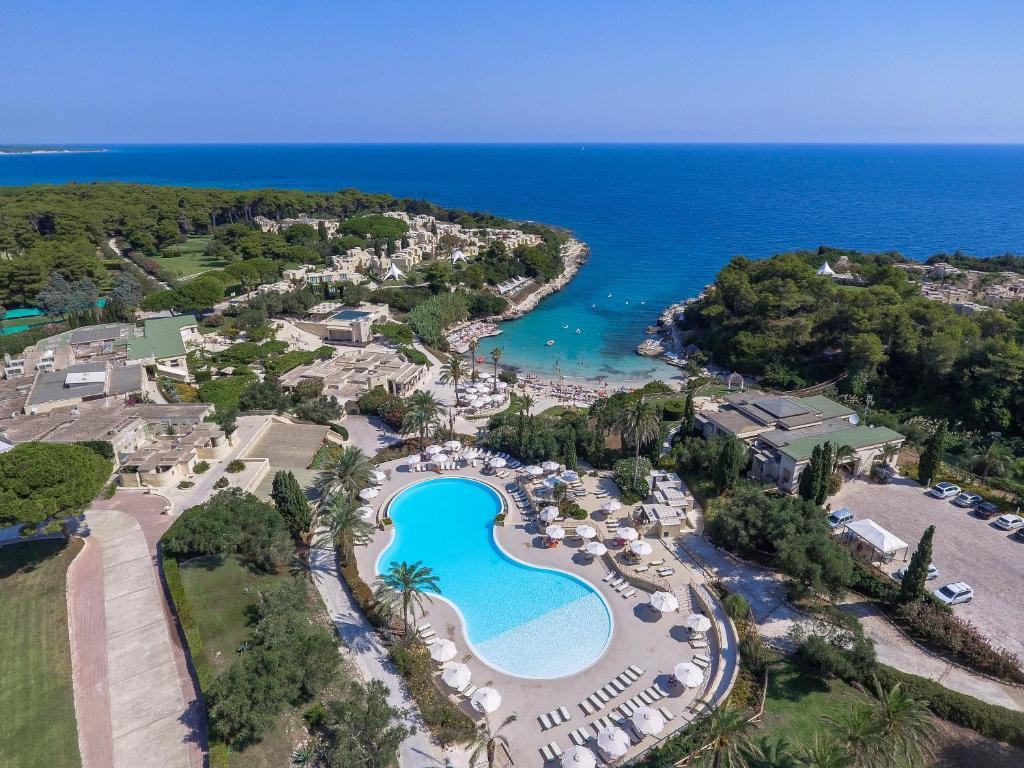 Vista aerea di Le Cale D'Otranto Beach Resort