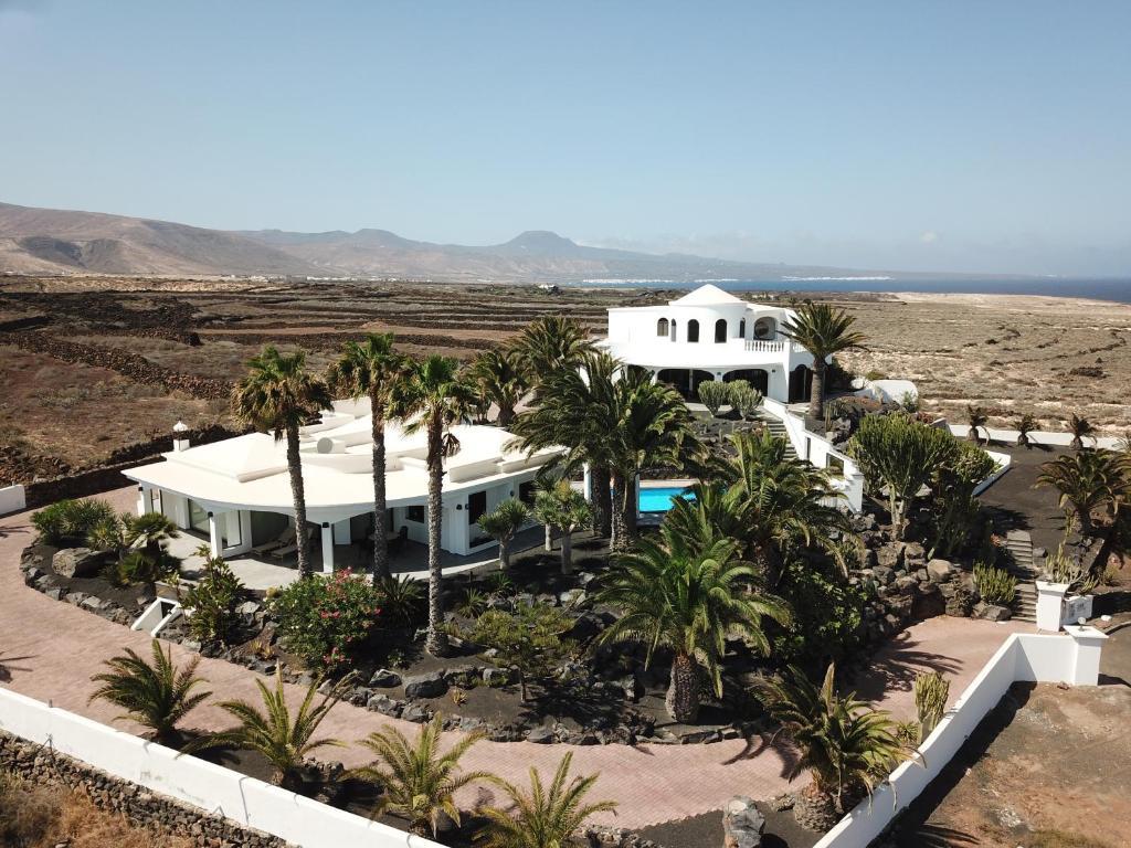Blick auf Casa Ronda aus der Vogelperspektive