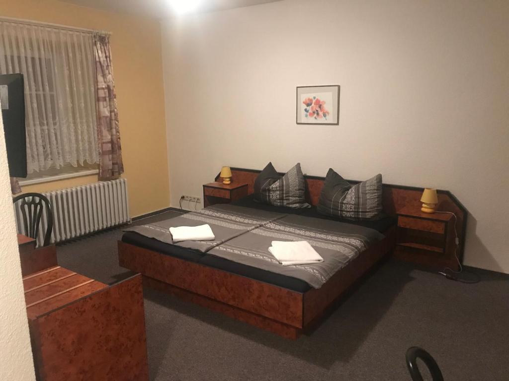 Ein Bett oder Betten in einem Zimmer der Unterkunft Dos Gauchos