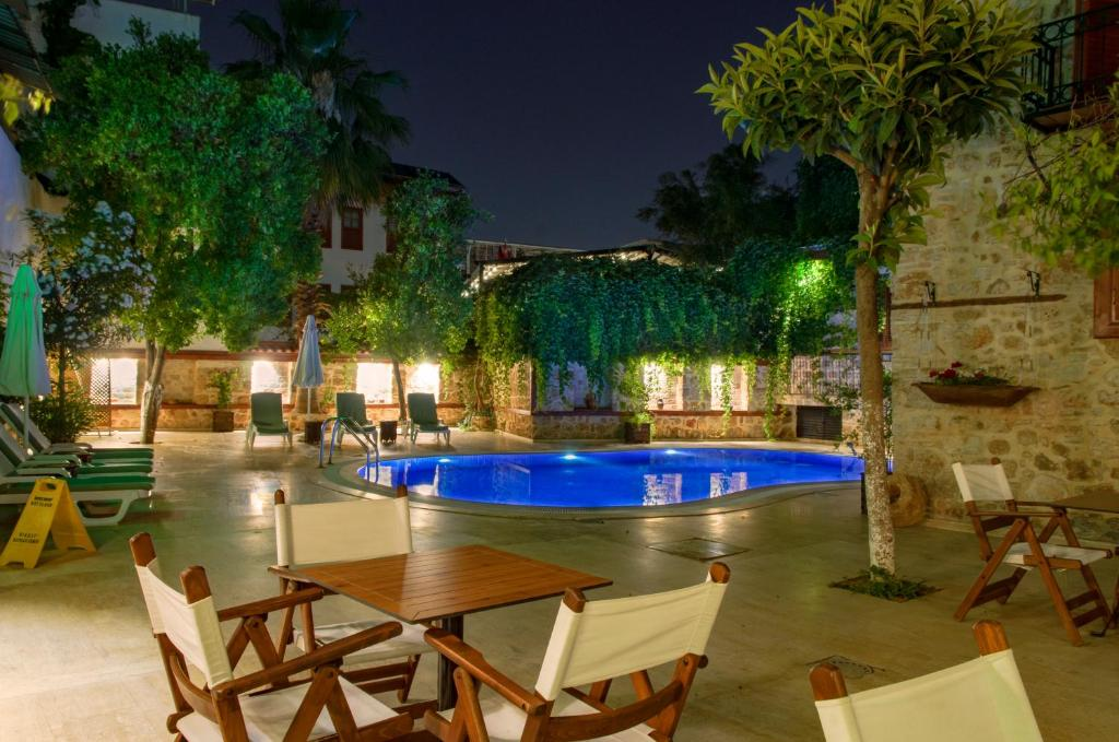 The swimming pool at or close to White Garden Hotel