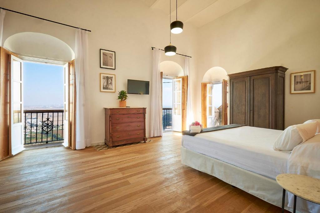Cama o camas de una habitación en Bekkeh