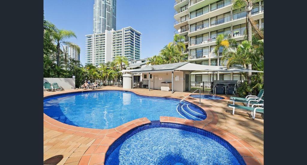 The swimming pool at or near Anacapri Holiday Resort Apartments