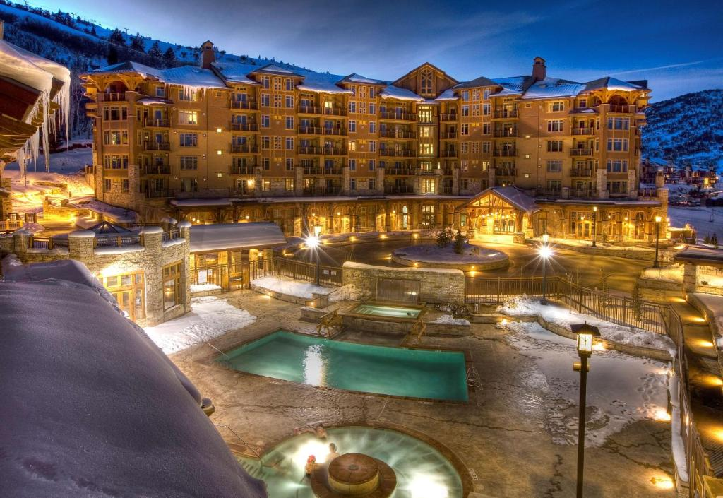 A view of the pool at Hyatt Centric Park City or nearby