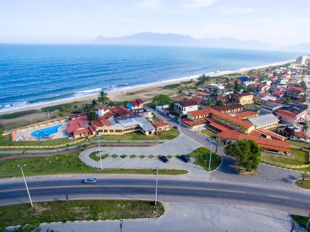 Uma vista aérea de Hotel Águas Vivas