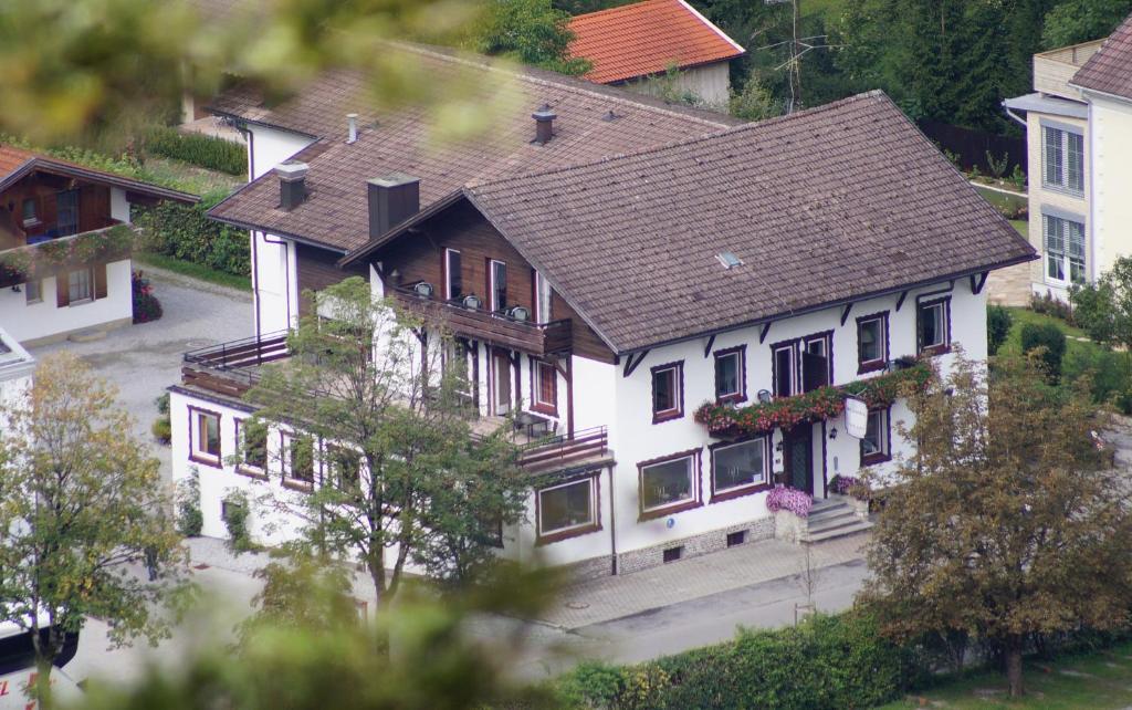 A bird's-eye view of Hotel Garni Schlossblick