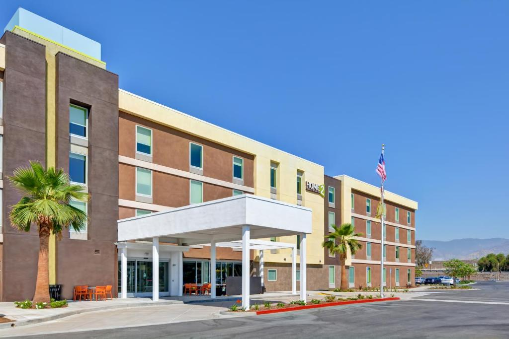 The Home2Suites Azusa.