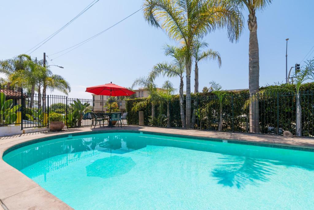The swimming pool at or near Laguna Beach Inn