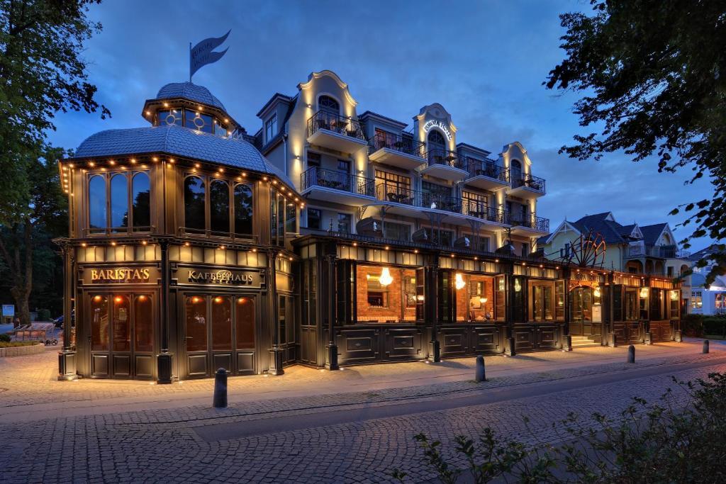 Europa Hotel Kühlungsborn im Winter