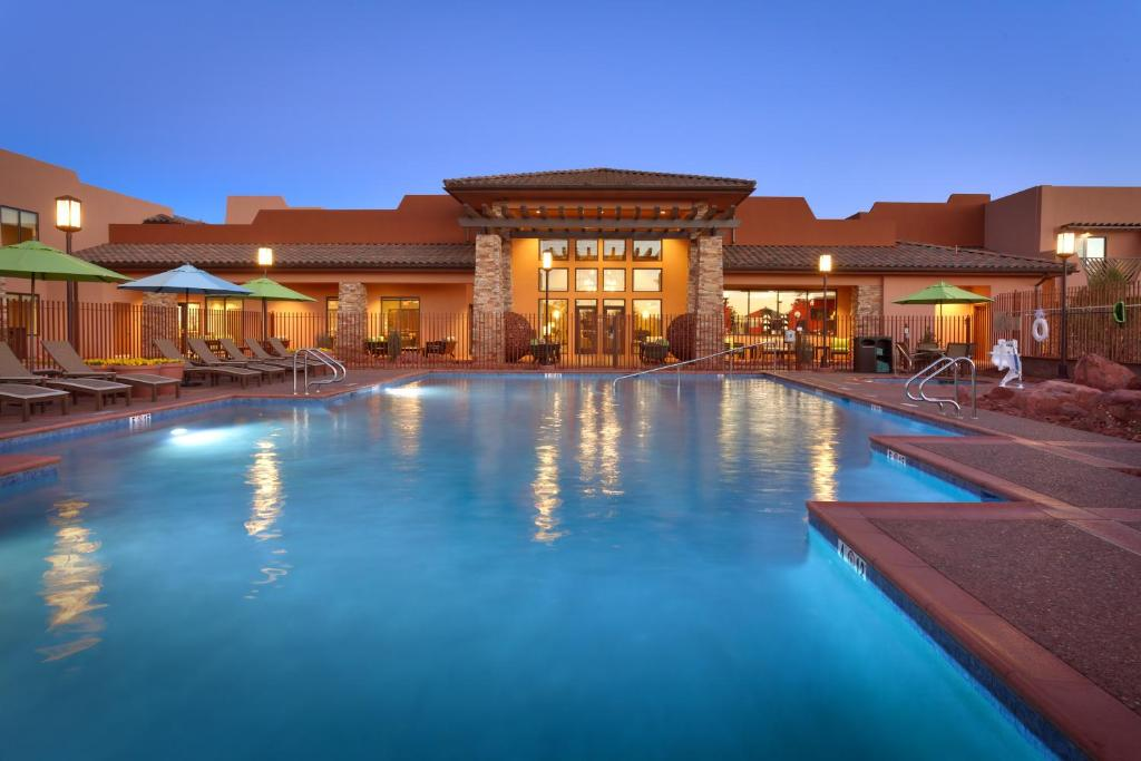 The swimming pool at or near Courtyard by Marriott Sedona