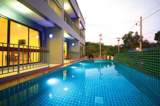 The swimming pool at or near Ao Nang O2 Boutique Hotel