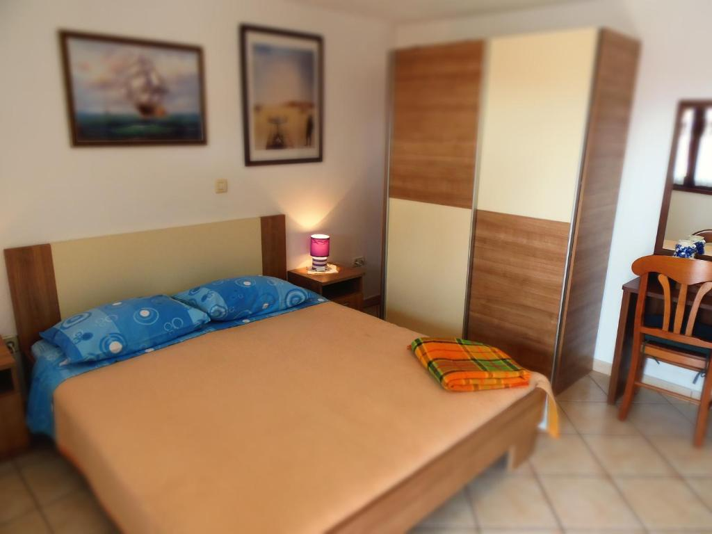 A bed or beds in a room at Apartment Noemi