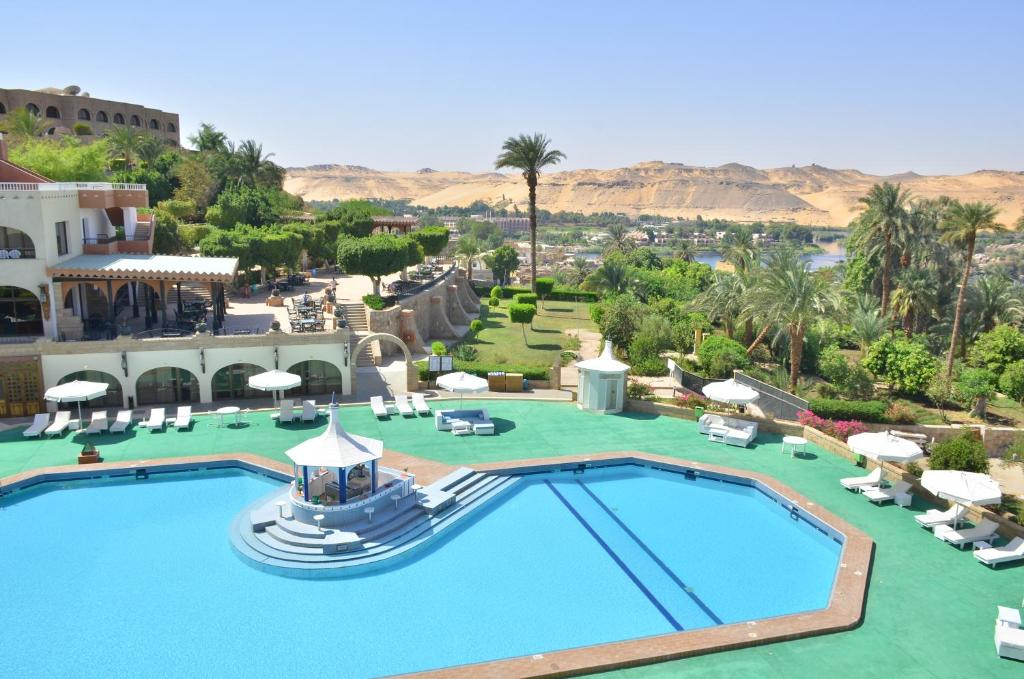 A view of the pool at Basma Hotel Aswan or nearby