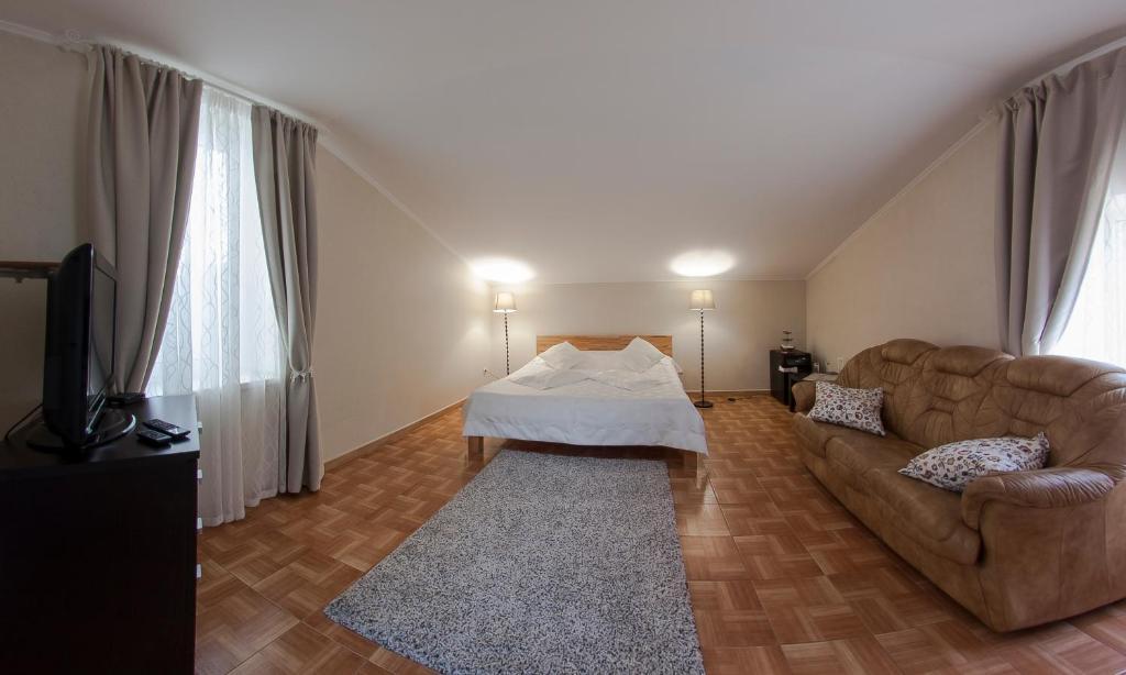 Кровать или кровати в номере Yo-moe