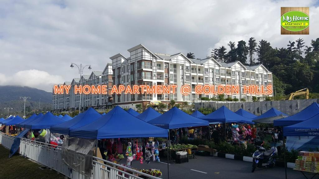 My 4rooms Apartment Golden Hills Pasar Malam Cameron Highlands Malaysia Booking Com