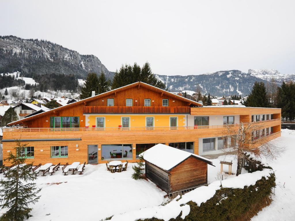 Der Seebacherhof im Winter