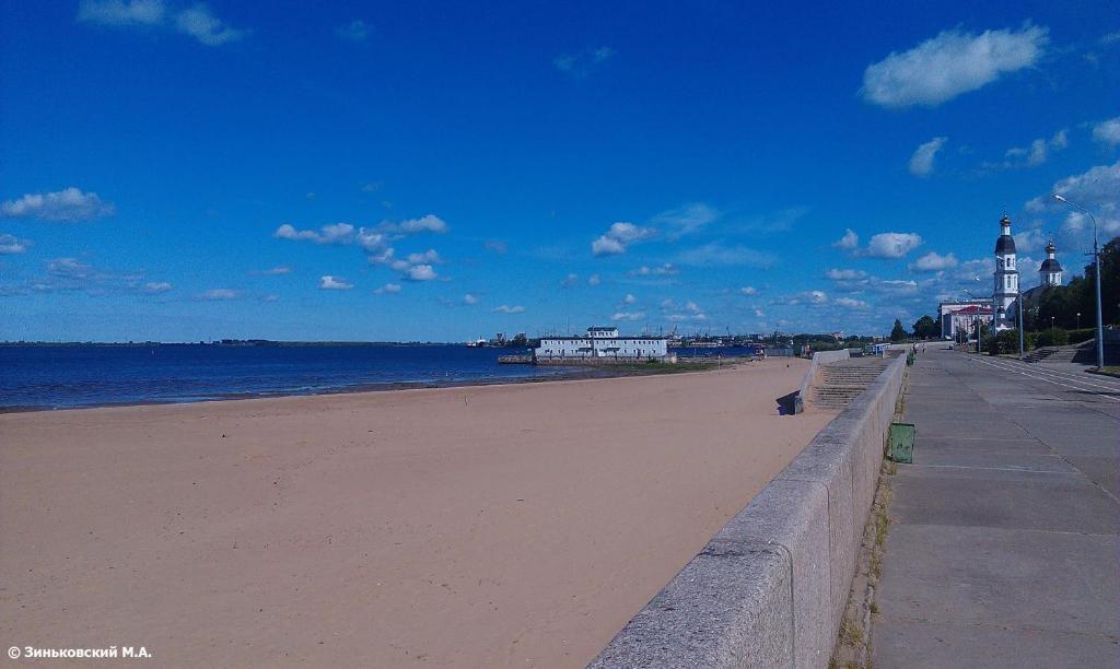 Пляж на территории хостела или поблизости