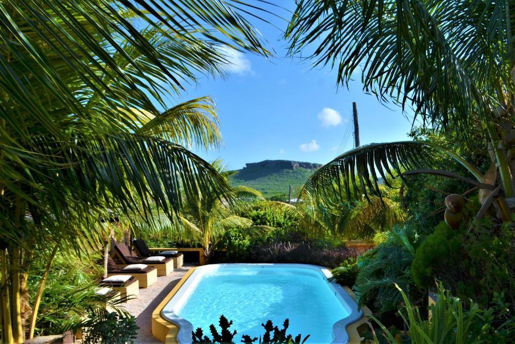A piscina localizada em Jan Kok Lodges ou nos arredores
