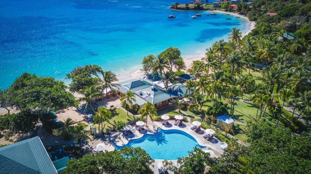 A bird's-eye view of Bequia Beach Luxury Boutique Hotel