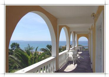 A balcony or terrace at Adriatica View