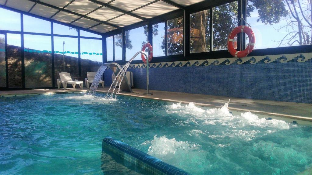 The swimming pool at or near Hotel San Millán