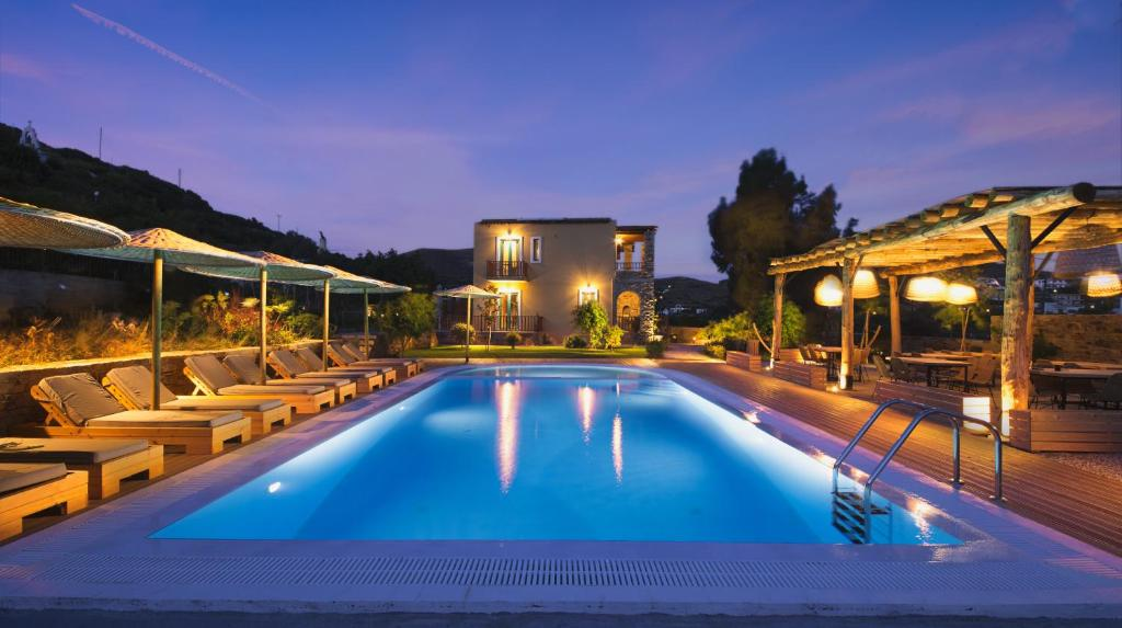 The swimming pool at or close to Anemoessa Luxury Villas