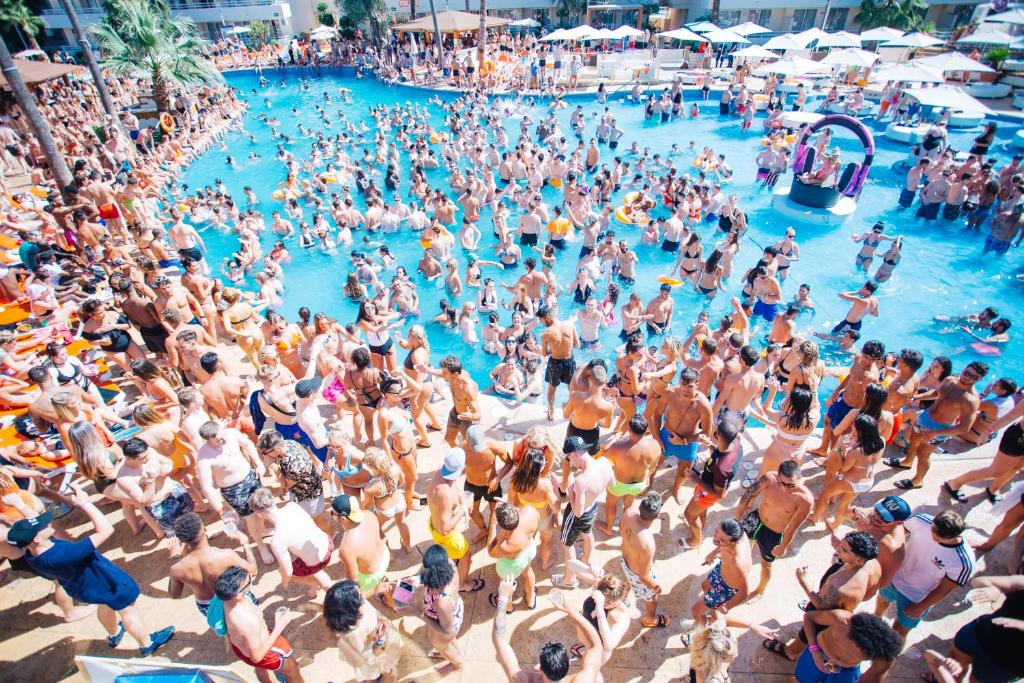 A bird's-eye view of BH Mallorca- Adults Only