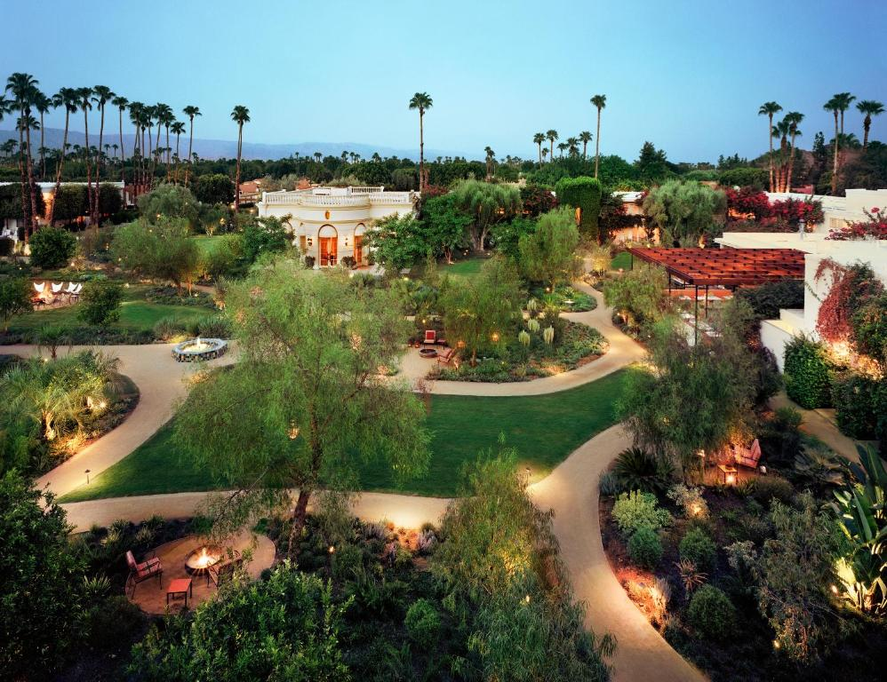 A bird's-eye view of Parker Palm Springs