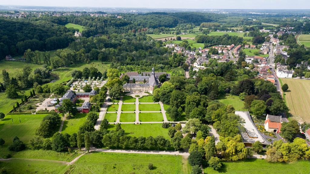A bird's-eye view of Château St. Gerlach