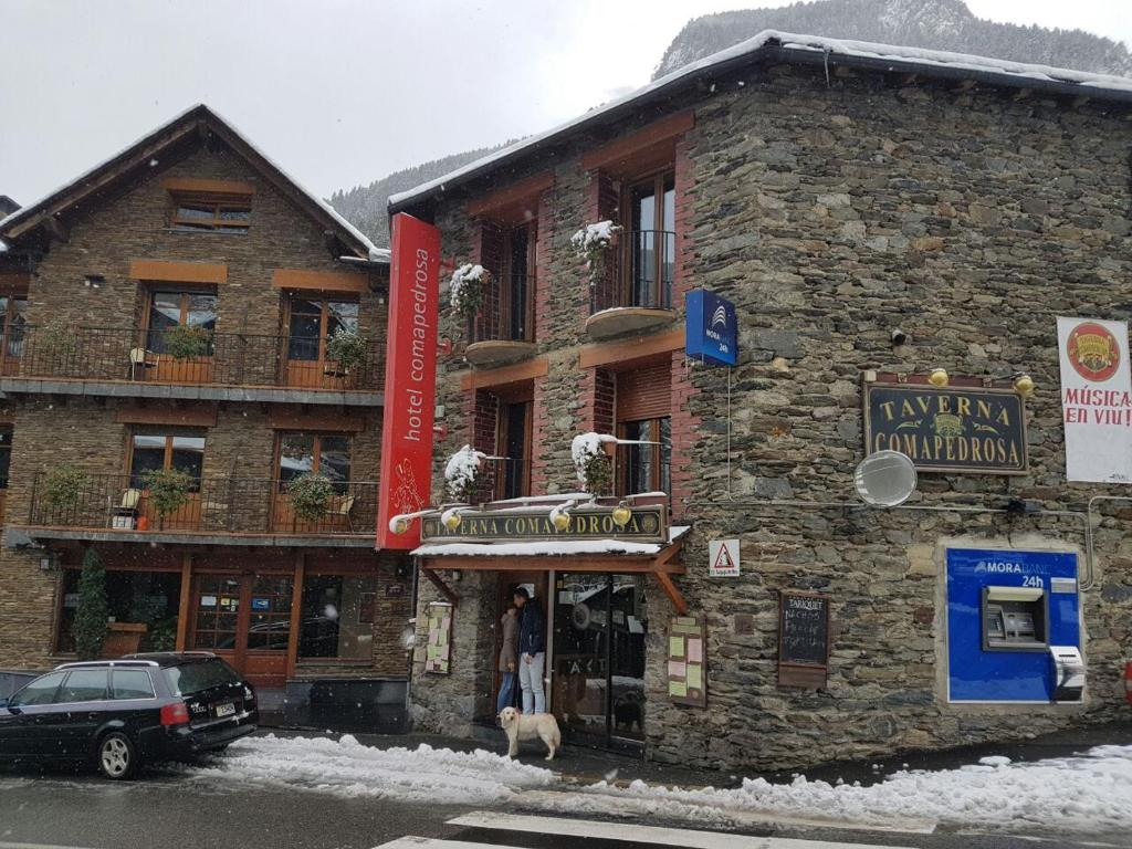Hotel Comapedrosa during the winter