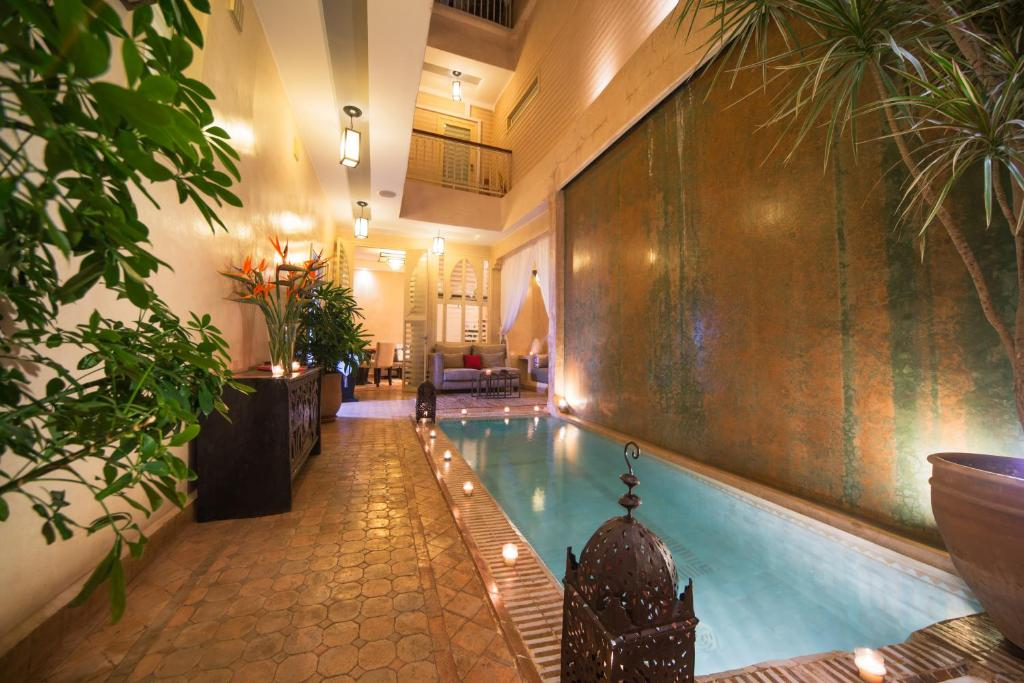 The swimming pool at or near Riad Cocoon